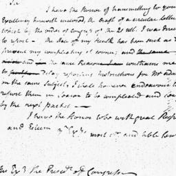 Document, 1787 April 06