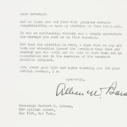 Letter: 1948 November 10