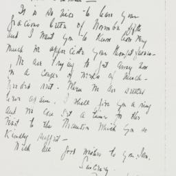 Letter: 1942 November 9