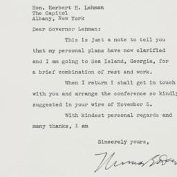 Letter: 1942 November 10