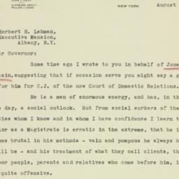 Letter: 1933 August 17