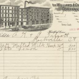 Williams & Carlton Company....