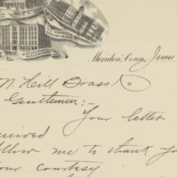 Geo. H. Bowker & Co.. Letter