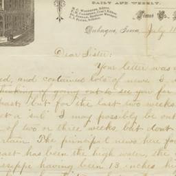 Dubuque Times. Letter