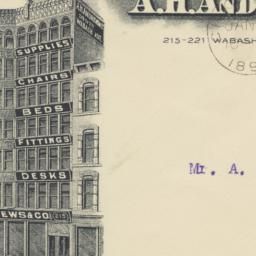 A.H. Andrews & Co.. Envelope