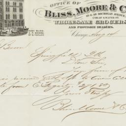 Bliss, Moore & Co.. Bill