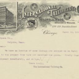 International Tailoring Co....
