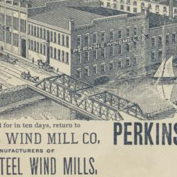 Perkins Wind Mill & Ax Co.....
