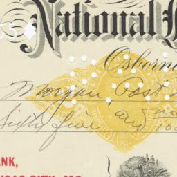 Exchange National Bank. Check