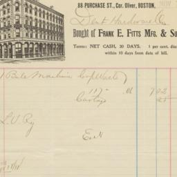 Frank E. Fitts Mfg. & Suppl...