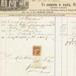Joseph F. Paul. Bill