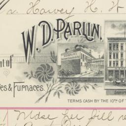 W. D. Parlin. Bill