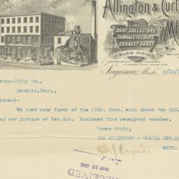 Allington & Curtis Mfg. Co....