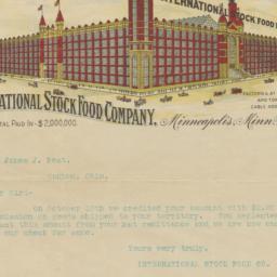 International Stock Food Co...