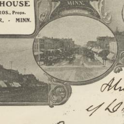 Cook House. Envelope