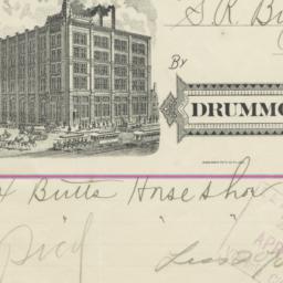 Drummond Tobacco Co.. Bill