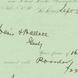 Jno. McKittrick & Co.. Letter