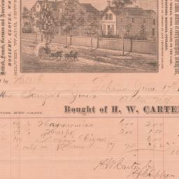 H. W. Carter. Bill