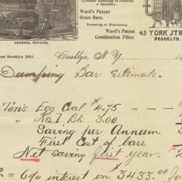 Ward, Anderson & Co.. Letter