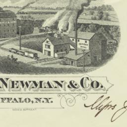 E. J. Newman & Co.. Envelope