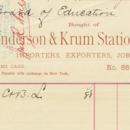 Anderson & Krum Stationery ...