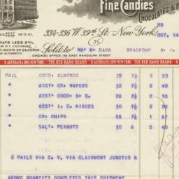 D. Auerbach & Sons. Bill