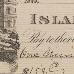 Island City Bank. Check