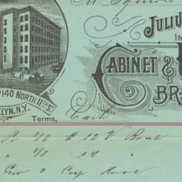 Julius Berbecker & Co.. Bill