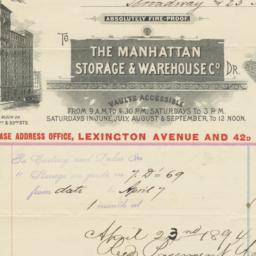 Manhattan Storage and Wareh...