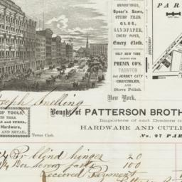 Patterson Brothers. Bill