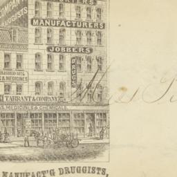 Tarrant & Company. Envelope