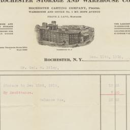 Rochester Storage and Wareh...
