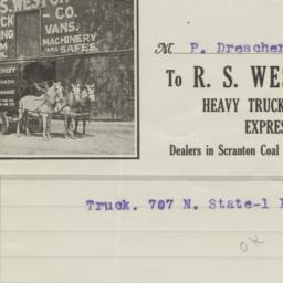 R. S. Weston Truck & Coal C...