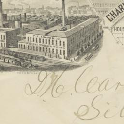 Charles F. Adams. Envelope
