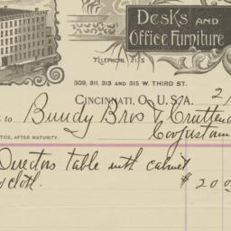 J. F. Dietz & Co.. Bill