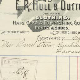 E. R. Hull & Dutton. Bill