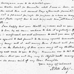 Document, 1803 December 27