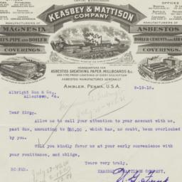 Keasbey & Mattison Company....