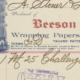 Beeson Paper Co.. Bill