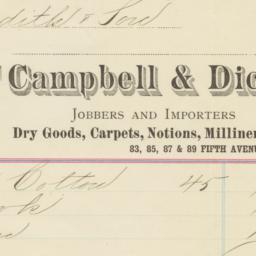 Campbell & Dick. Bill
