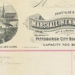 Marshall, Kennedys & Co.. Bill