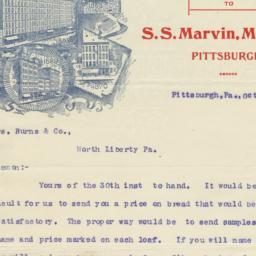 Marvin Bakery, U. S. B. Co....