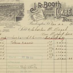 J. R. Booth. Bill
