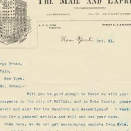 Mail and Express. Letter