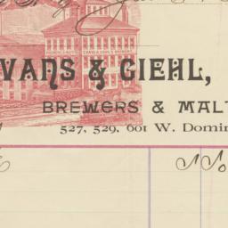 Evans & Giehl. Bill