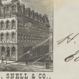 Avery, Snell & Co.. Envelope