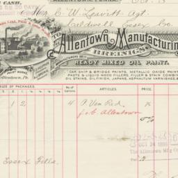 Allentown Manufacturing Co....