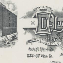 DeLong Brothers. Card stock