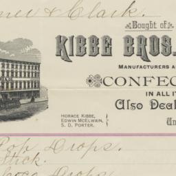 Kibbe Brothers Co.. Bill