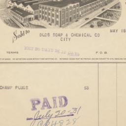 W. J. Holliday & Co.. Bill